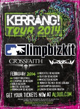 Kerrang Tour 2014
