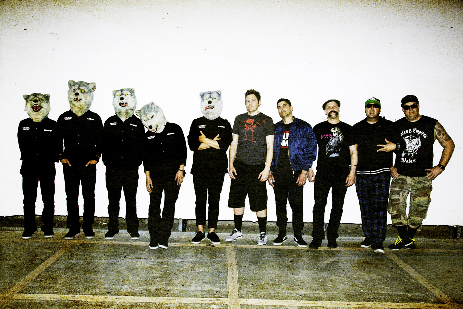 MAN WITH A MISSION×Zebrahead