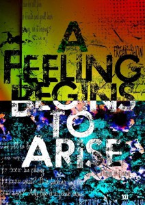 A Feeling Begins to Arise 初回ジャケ写 DCBA-19~20