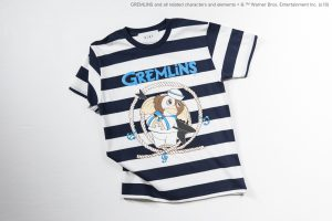 "NO_13  SAILOR GREMLiNS"" BORDER TEE"