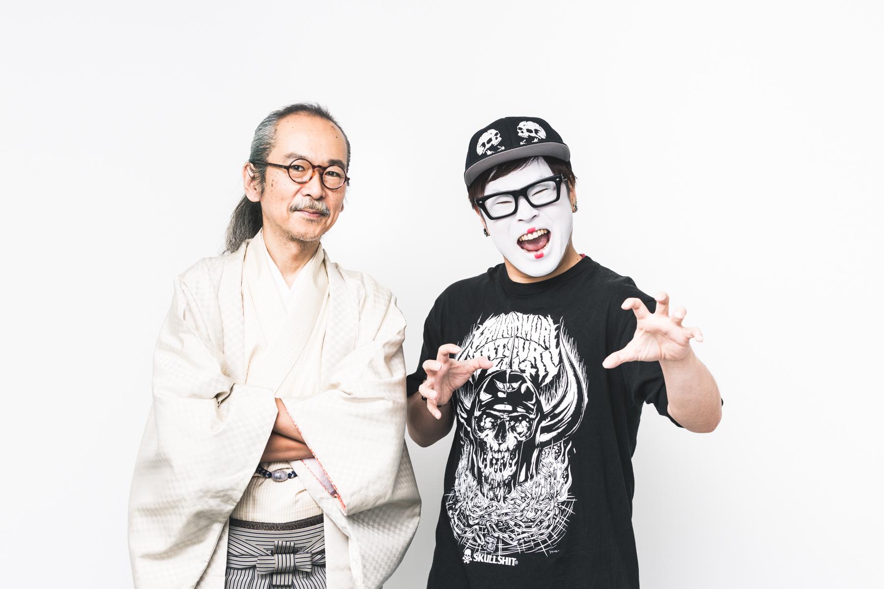 和嶋慎治(人間椅子)×団長(NoGoD)