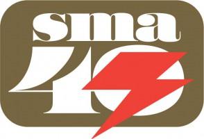 SMA 40th ロゴ