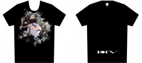 DIV×maxsixコラボTシャツ