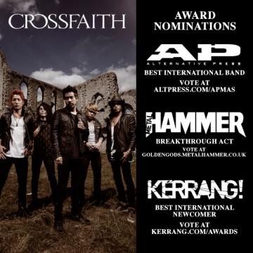 Alternative Press『BEST INTERNATIONAL BAND』,KERRANG!『BEST INTERNATIONAL NEWCOMER』,Metal Hammer『Breakthrough』 へのノミネート画像