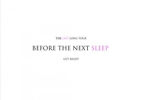 TOUR 2014 BEFORE THE NEXT SLEEP