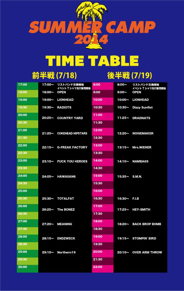 SUMMER CAMP_timetableall
