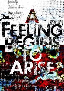 A Feeling Begins to Arise 通常ジャケ写 DCBA-19~20DCBA-21